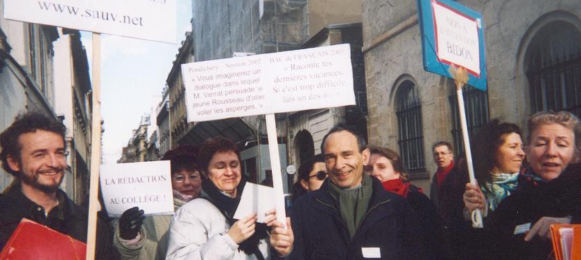 Manifestation du 05/02/2003